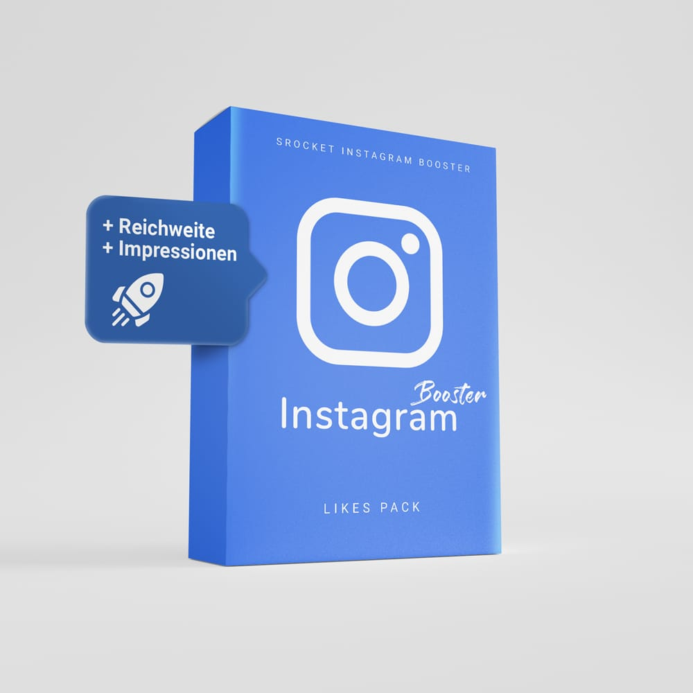 Instagram Likes bei sRocket kaufen