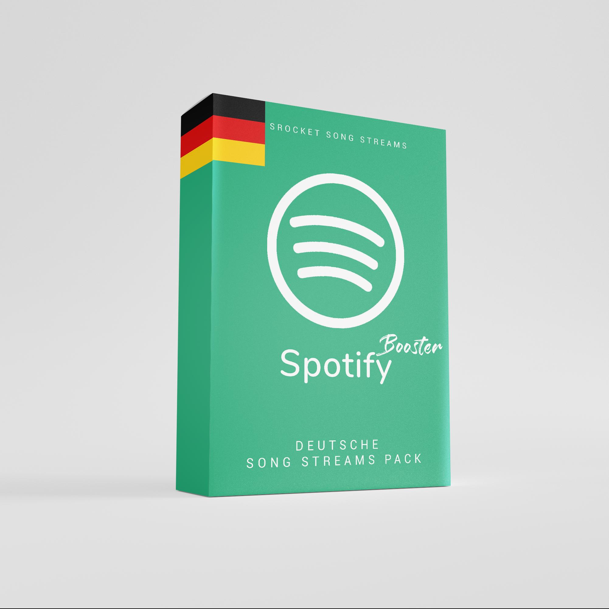 Spotify Song Streams auf Deutschland