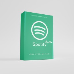 sRocket Spotify Booster Pack für mehr Song Plays