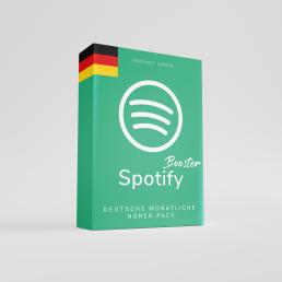 Deutsche Monatliche Hörer Spotify kaufen