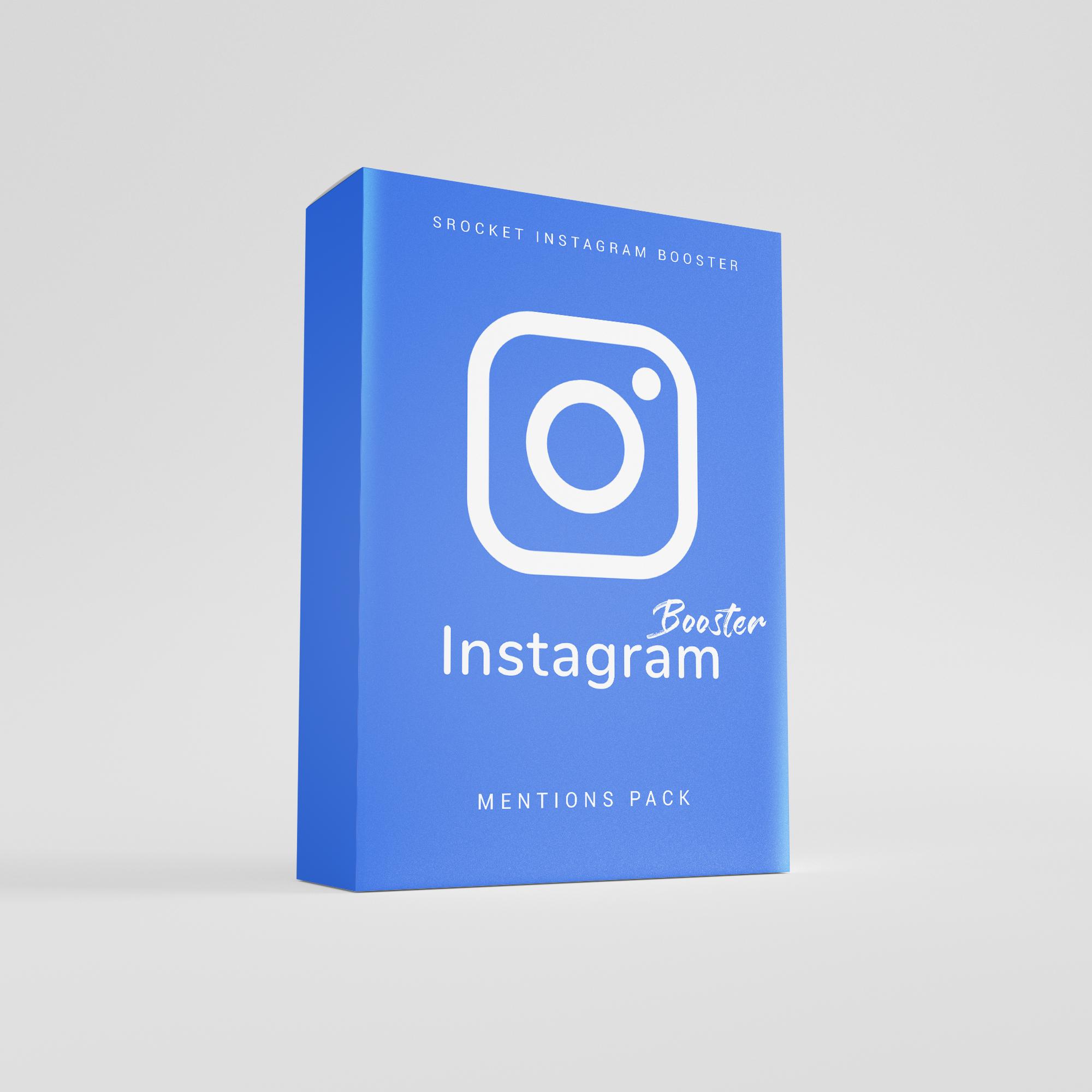 Instagram Mentions bei sRocket kaufen