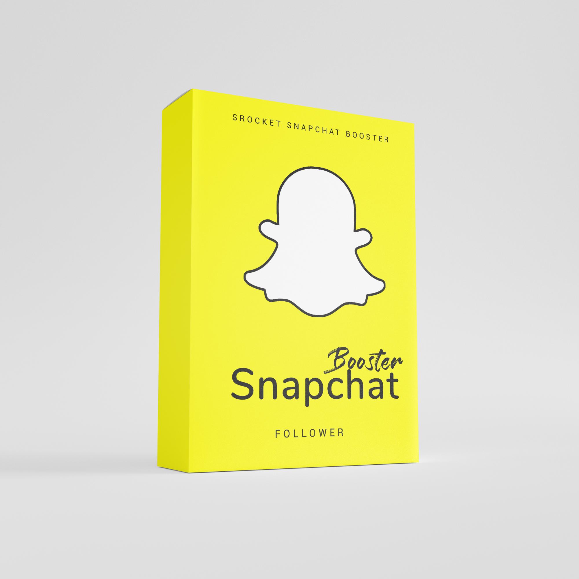 Jetzt dein Snapchat Profil mit Follower Booster von Social Rocket boosten.